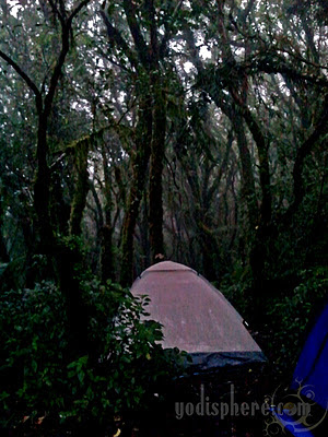 Campsite at Mt. Cristobal