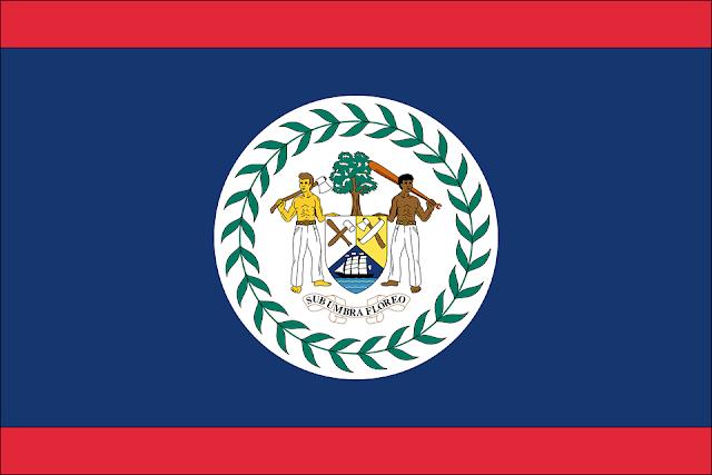 Bandera de Belice.