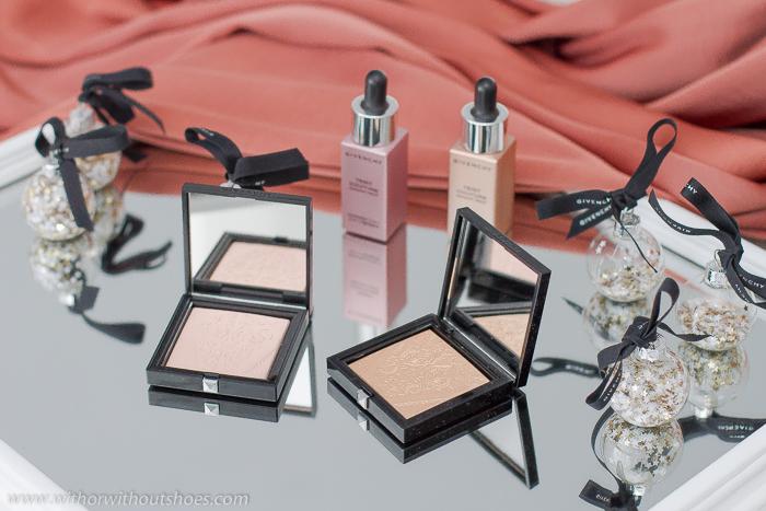 Shine in Matte la nueva colección de maquillaje con iluminadores en gel polvo y fluidos de Givenchy Beauty