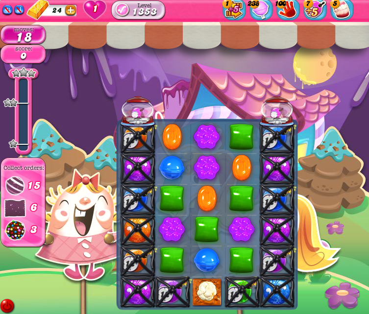 Candy Crush Saga 1353
