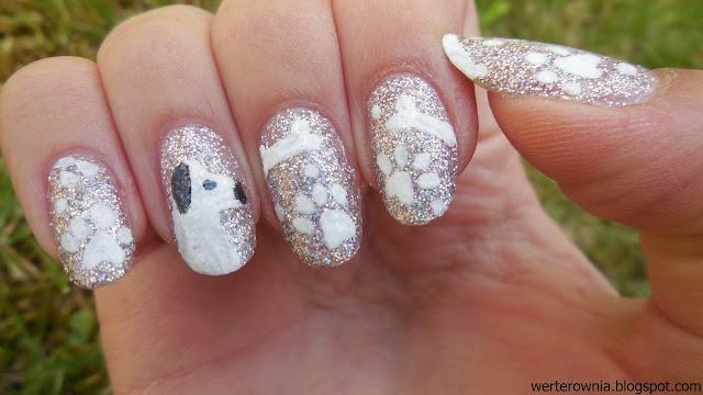 jak namalować pieska na paznokciach?