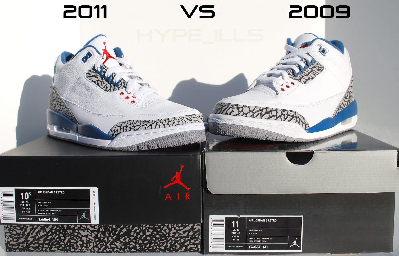 699b4a1d9c23 Hype ills  Jordan III Retro