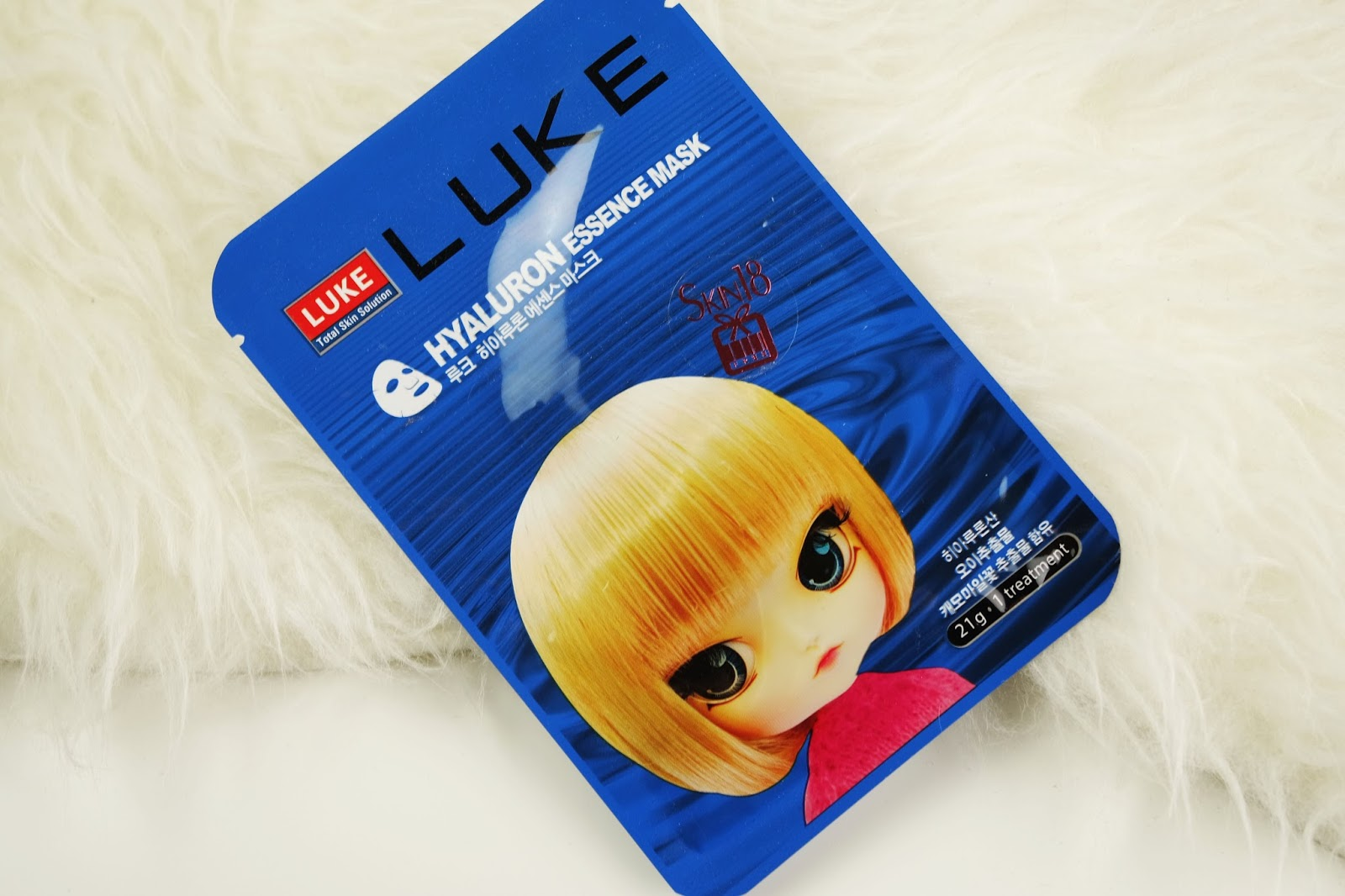 Luke Hyaluron Essence Mask