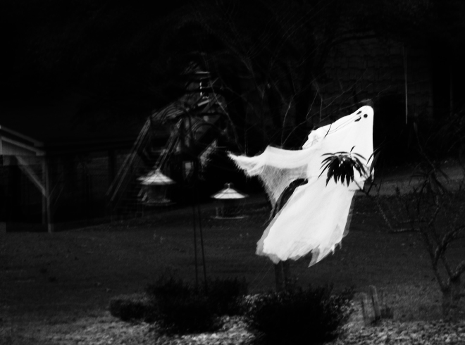 The Flying Clubhouse: Halloween Ghost
