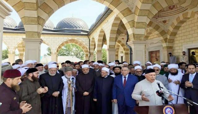 Jejak Islam Nusantara yang Diusung NU Tampak pada Konferensi Ulama Suni di Chechnya