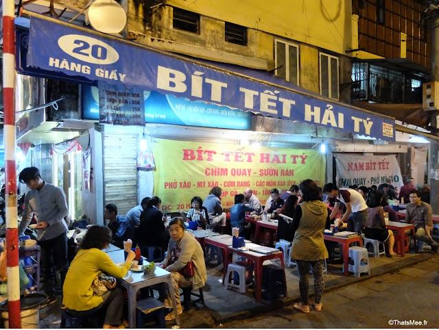 resto de rue hanoi vietnam
