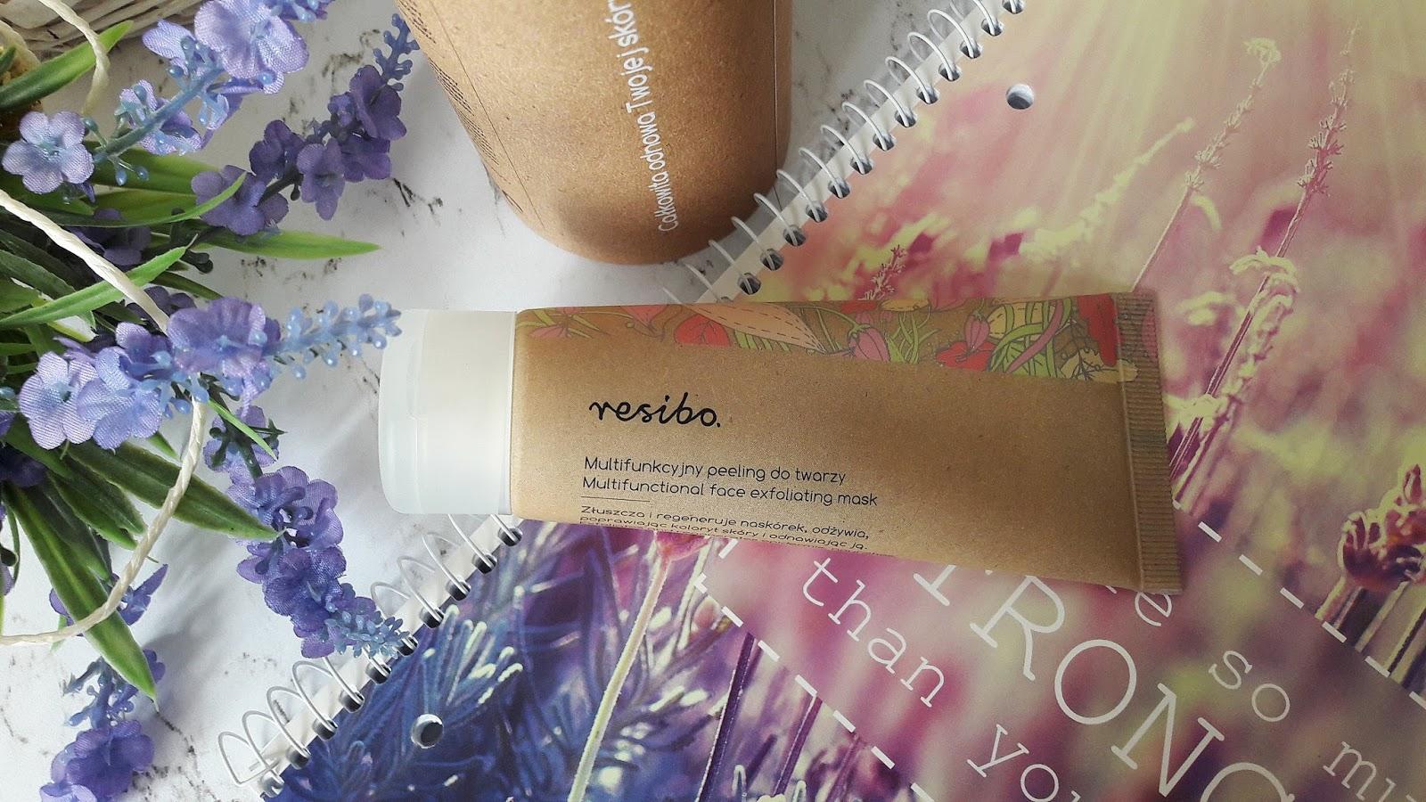 Peeling do twarzy marki Resibo