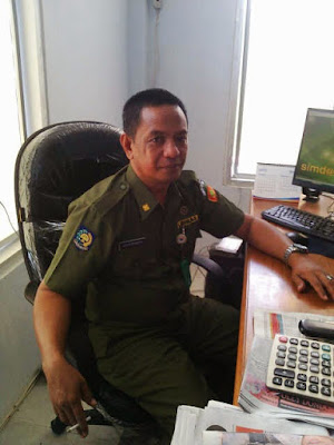 Kepala DPPKAD Boltim, Oscar Manoppo