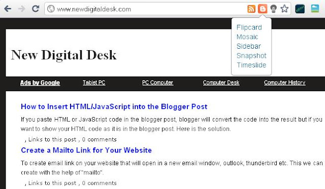 View Your Blog in a Different Layout