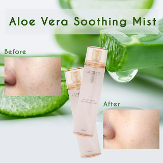 Manfaat Lacoco Aloe Vera Soothing Mist Nasa
