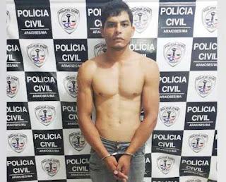 Homem acusado de Latrocínio em Goiás é preso pela Polícia Civil do MA em Araioses
