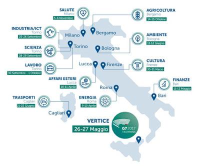 Что посмотреть в Италии Турине G7 Venaria Reale