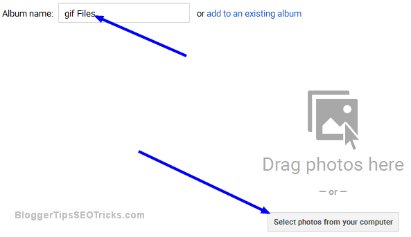 create gif file album