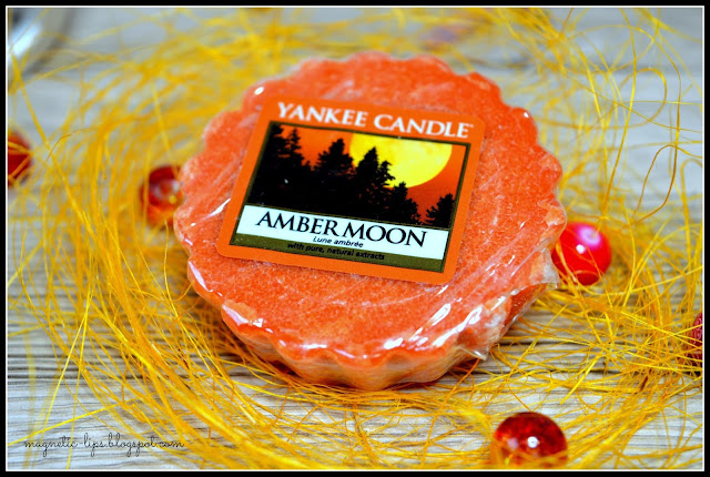 wosk yankee candle amber moon