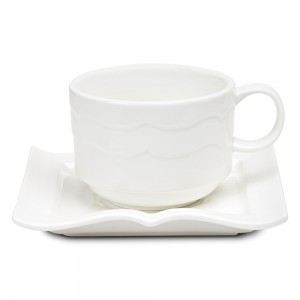 book-shaped saucer and mug