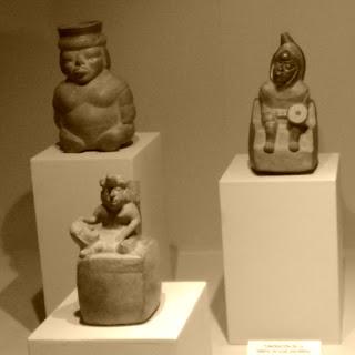 Cerâmicas Representam Doentes, no Museo de Arqueologia de Lima