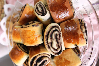 Zeytinli Rulo Çörek