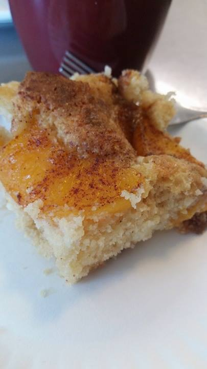 Ramblings Thoughts, Recipes, Dessert, Tasty Tuesday, Peaches and Cream, Yummy