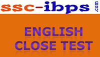 Quest For English :: Close Test For SBI SO, IBPS SO Exams.