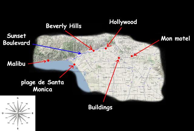 Petit plan de Los Angeles