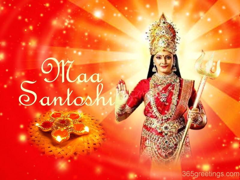 Saraswati Devi Wallpaper 3d Jai Santoshi Maa Hindu God Wallpapers Free Download
