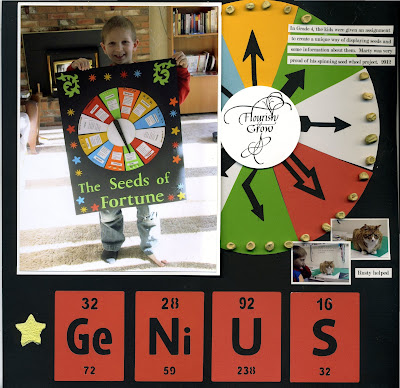 connie nichol, silhouette cameo, genius periodic table