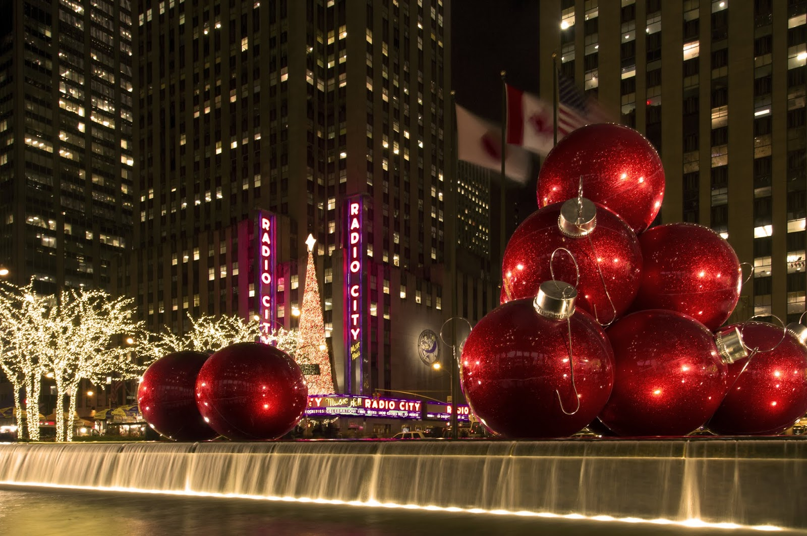 Weihnachtsbilder New York.Genickstarre Nyc Weihnachten In New York