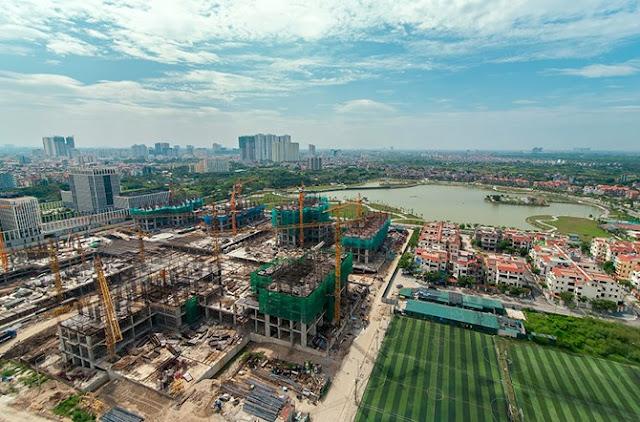 Tiến độ hiện tại của An Bình City - Thành Phố Giao Lưu