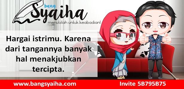 Hargai Istri Kalian Karena dari Tangannya Banyak Hal Hebat Tercipta, Pekerjaan istri itu berat maka hargai mereka, Bang Syaiha, http://www.bangsyaiha.com/