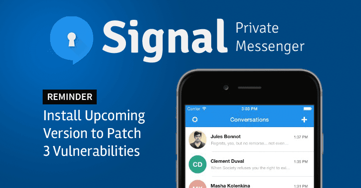 Signal Private Messenger (Via Google Images)