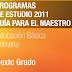 PLAN Y PROGRAMAS DE ESTUDIO 2011 6° PRIMARIA