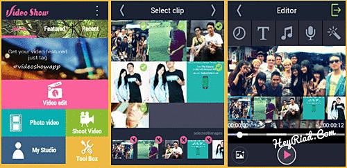 Menggabungkan foto dan lagu menjadi video di Android
