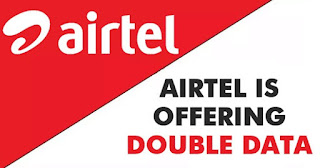 This is new! Enjoy Airtel's double data bonus using this code