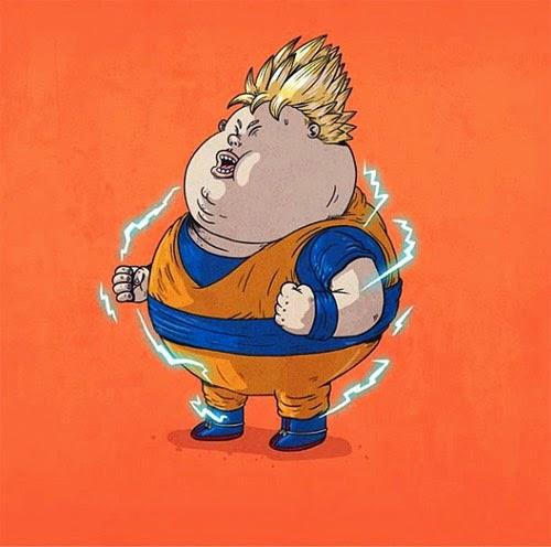 Fat Super Hero Gemuk - Dragoon Ball Fat Goku