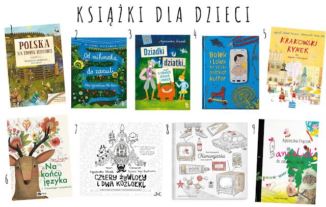 Książki dla dzieci i młodzieży oraz zestawy kreatywne i gry dotyczące polskiej historii, nauki, przyrody, kultury... #2020