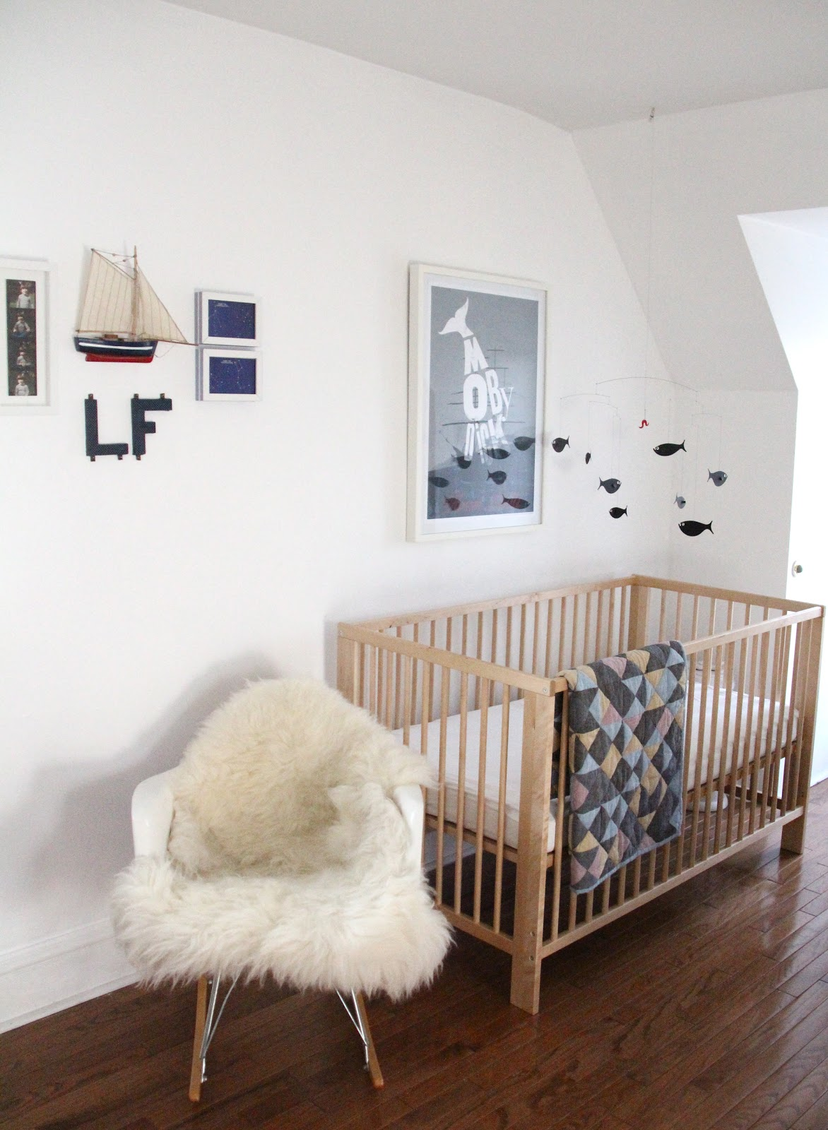 Les Pees Better Late Than Never Nursery Reveal