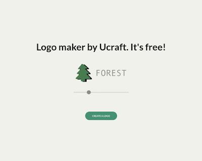 ucraft make logo online generator