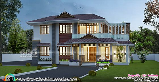 2541 sq-ft traditional mix home