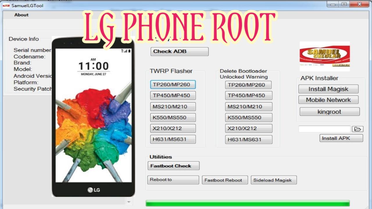 LG Root Tool - KoZaw Mobile & IT နည်းပညာ