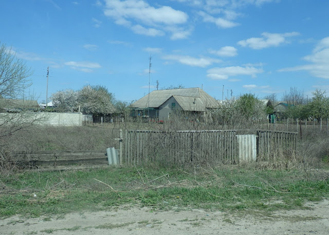 Giurgiulesti, przygraniczna mołdawska miejscowość (kwiecień 2015)
