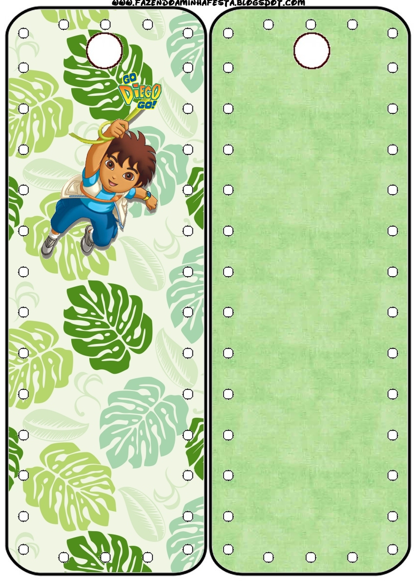 Go Diego Go: Free Party Printables  - Oh My Fiesta! in english