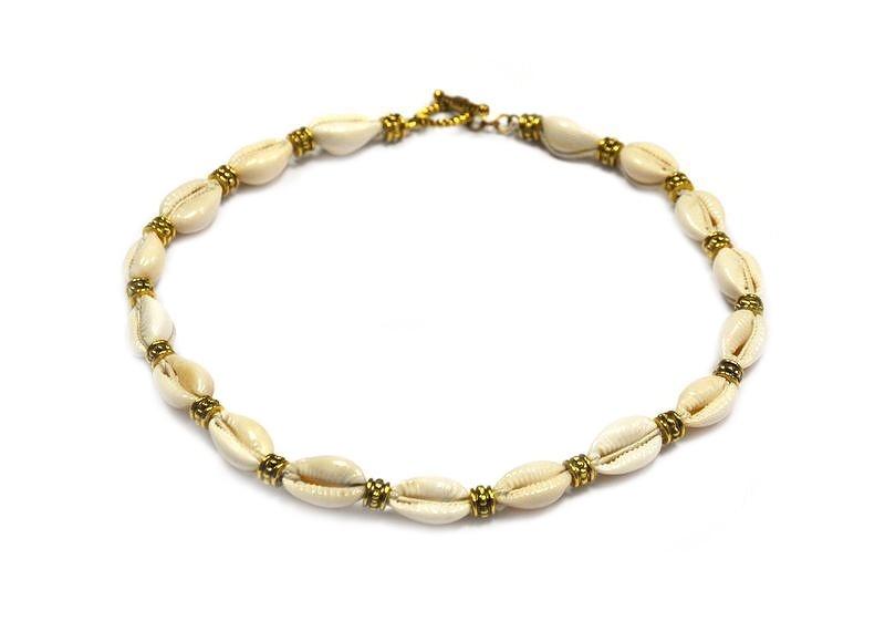 Mini tutoriál na náhrdelník z mušlí
