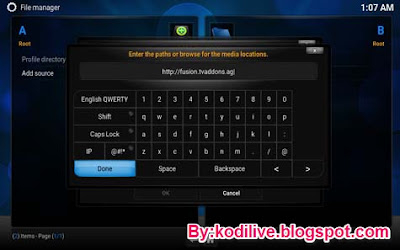 How To Install Fusion Addon In Kodi Step 4