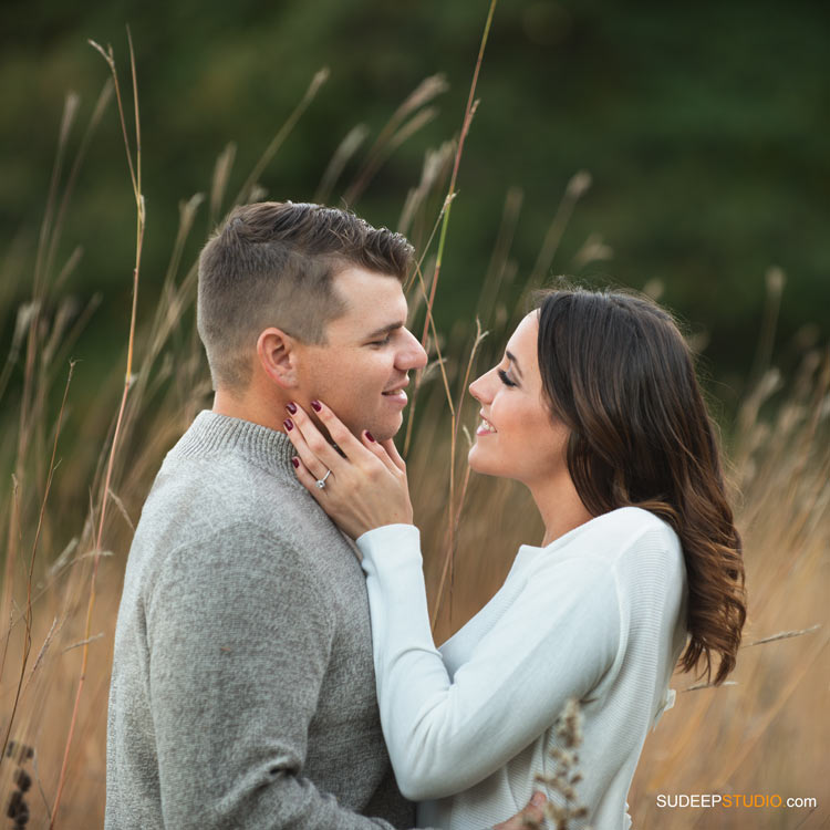 Ann Arbor Nichols Arboretum Engagement Session - SudeepStudio.com Ann Arbor Wedding Photographer