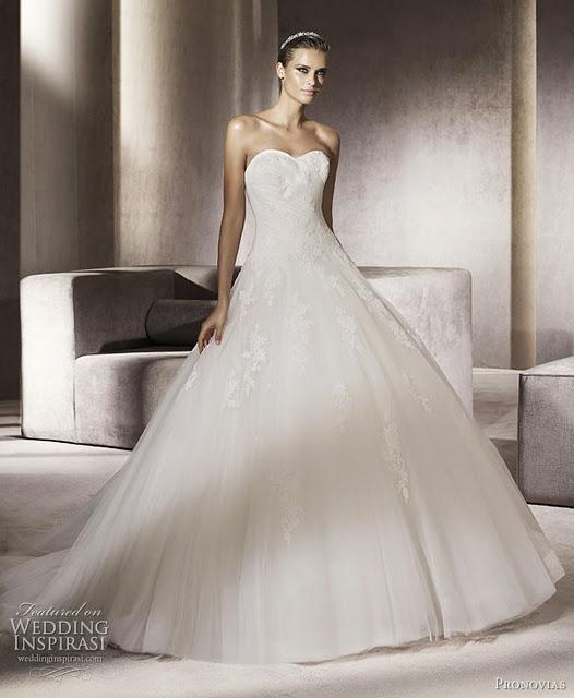 Favoloso Abiti da sposa stile cenerentola - Fashion touch italy EL32