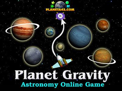 Planet Gravity Escape Game