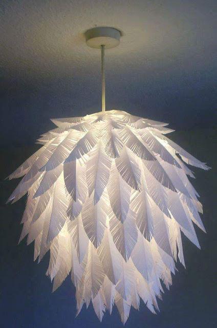 Lamparas faciles con material reciclado - Ideas para lamparas ...