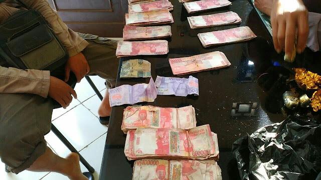 Puluhan Juta Uang Palsu Diamankan di Polres Batang
