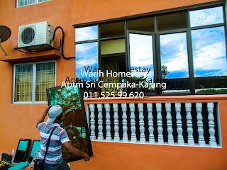 Warih-Homestay-ASC-Cermin-Tinted-Hampir-Siap