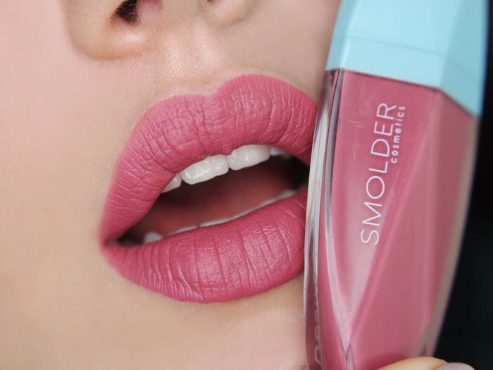 smolder cosmetics desire liquid lipstick